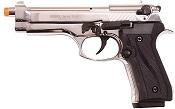 Front Firing Jackal 9MMPA Blank Firing Gun-Chrome