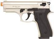 Front Firing Beretta Cougar 9MMPA Blank Firing Gun Satin