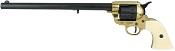 1873 Single Action Peacemaker Buntline Revolver Non-Firing Gun –Black Gold