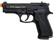 Front Firing Jackal Compact 9MMPA Blank Firing Gun-Black