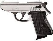 Kimar Lady K 8MM Semi-Auto Blank Firing Pistol - Nickel