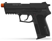 Retay S20 Front Firing 9MMPA Blank Firing Gun Black