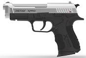 Retay XPRO Nickel 9MMPA Front Firing Blank Firing Gun