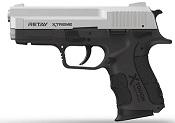 Retay XTREME Chrome Front Firing 9MMPA Blank Firing Gun