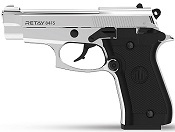 Retay 84FS Nickel 9MMPA Front Firing Blank Firing Gun