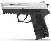Retay S20 Chrome Front Firing 9MMPA Blank Firing Gun