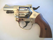 .380/9MM Olympic 6 Nickel Blank Firing Gun